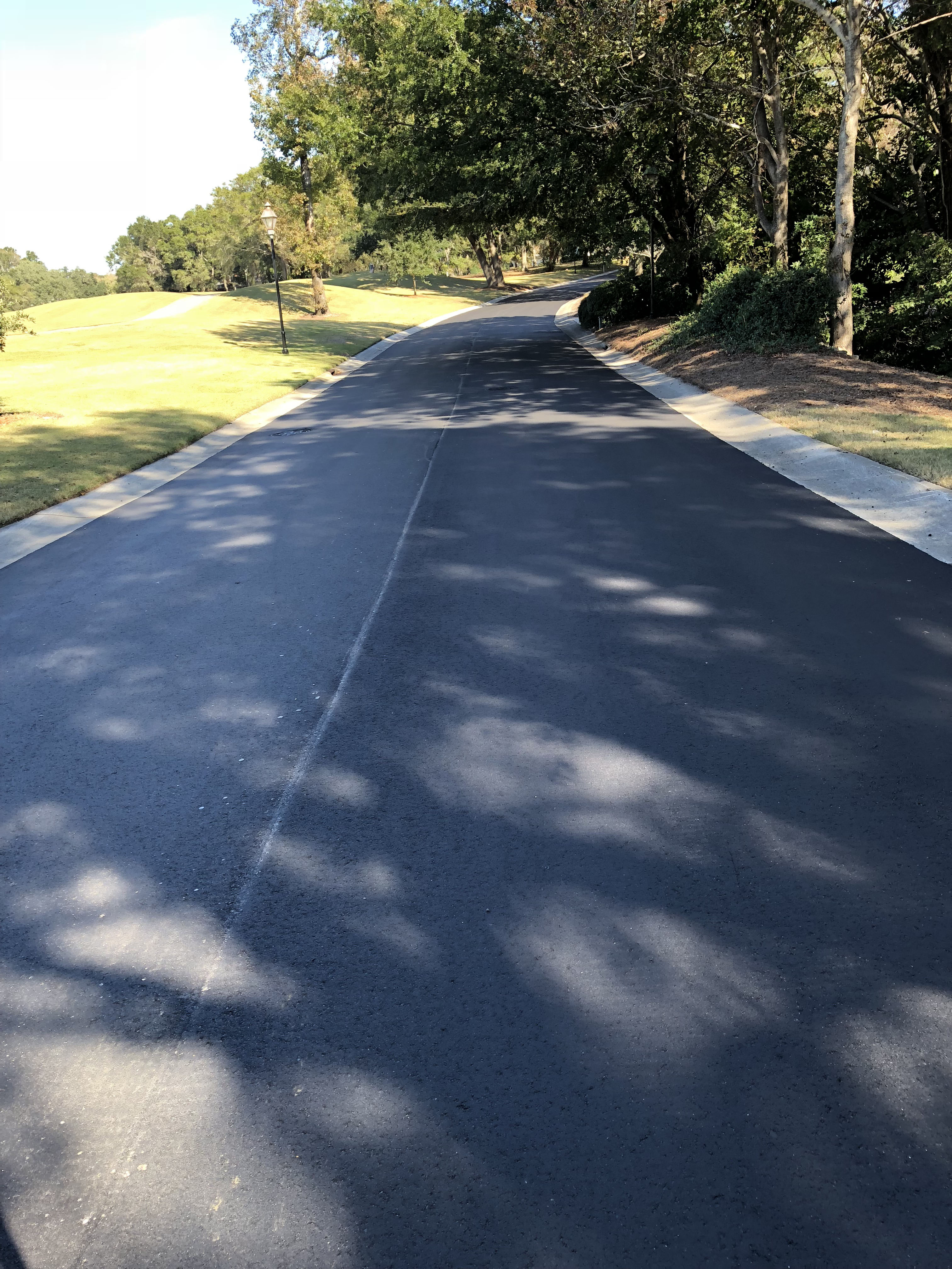 Landfall Drive Repaving from Golf Course